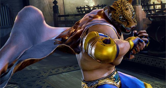King come appare in Tekken 7