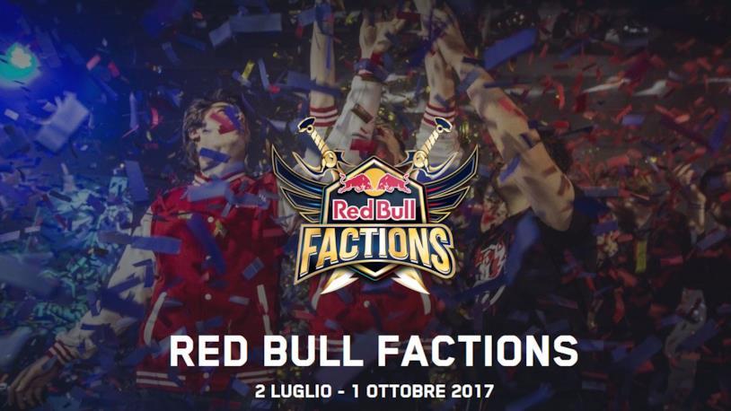 Si avvicina la finale di Red Bull Factions 2017