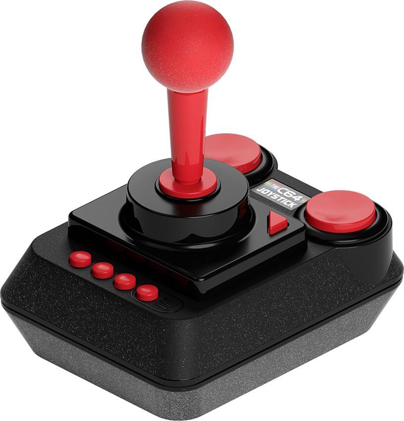 Il classico joystick USB incluso nella confezione di THEC64 Mini