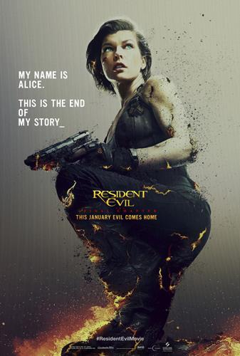 Poster di Resident Evil: The Final Chapter