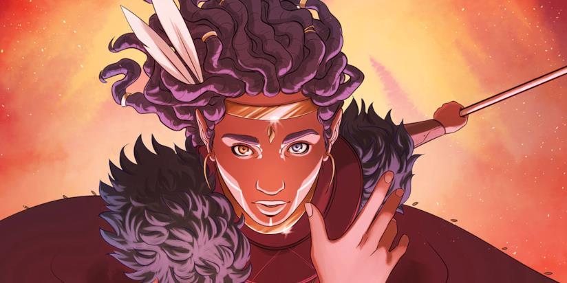 Niobe Ayutami nei fumetti della saga di Asunda