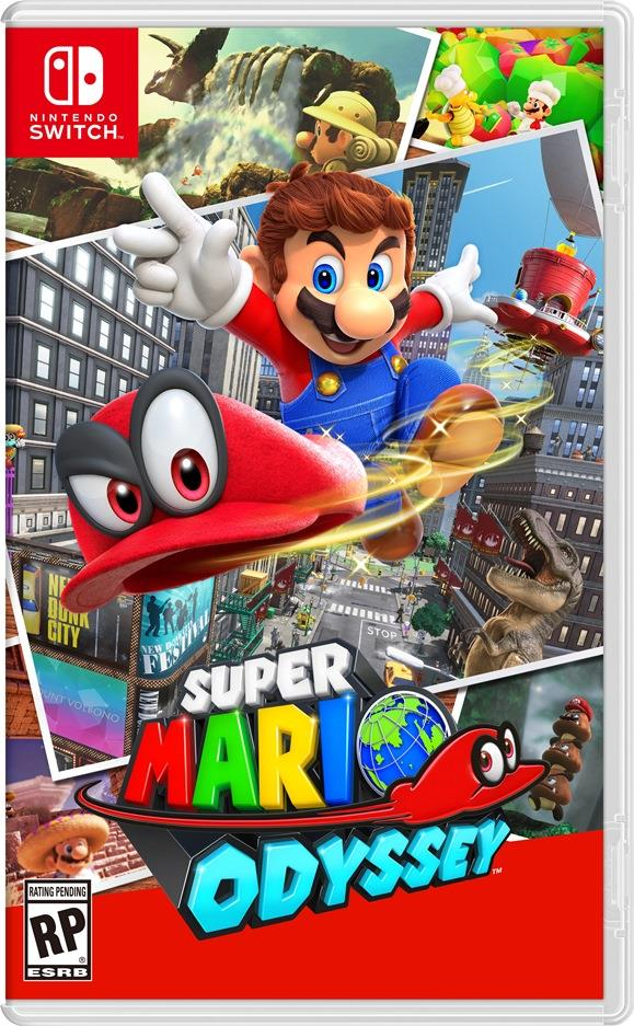 Un Super Mario agguerrito nella cover di Super Mario Odyssey