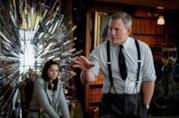Ana de Armas e Daniel Craig in una scena del film Knives Out - Cena con delitto