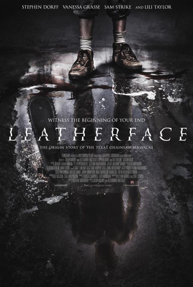 Poster del film Leatherface