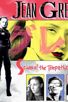 Jan Grey in un poster dal gusto vintage
