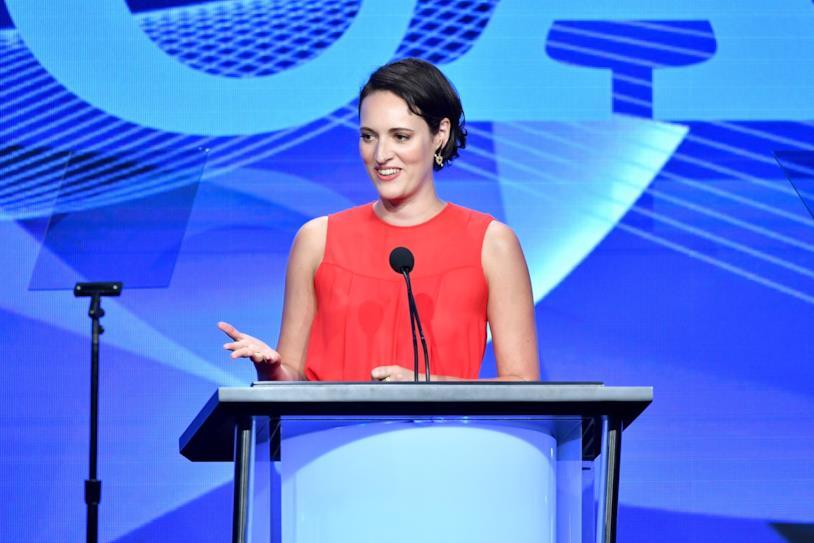 L'attrice Phoebe Waller-Bridge TCA Awards 2019