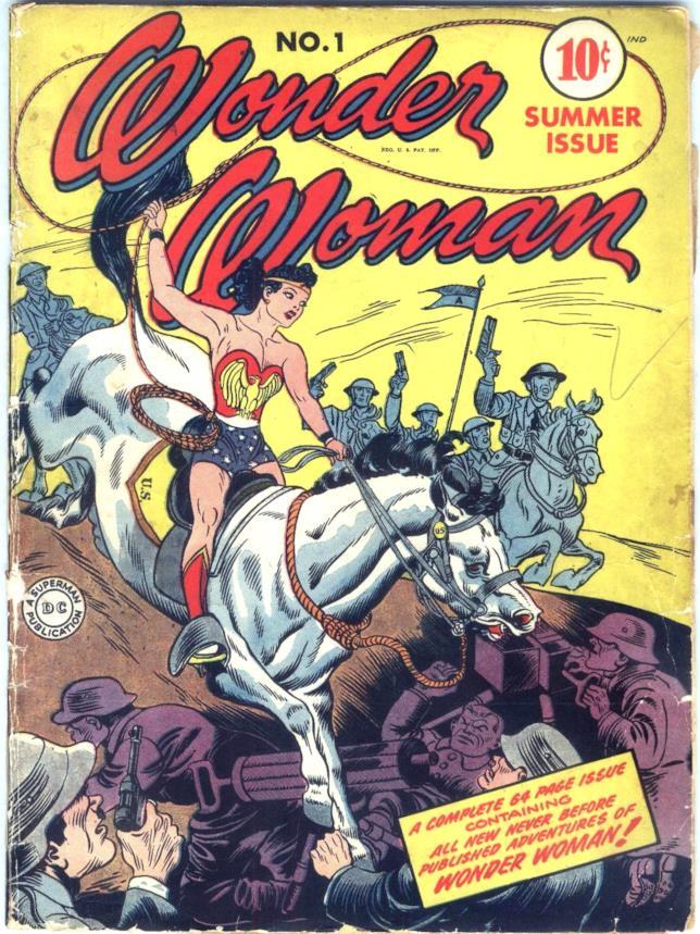 Il primo fumetto di Wonder Woman