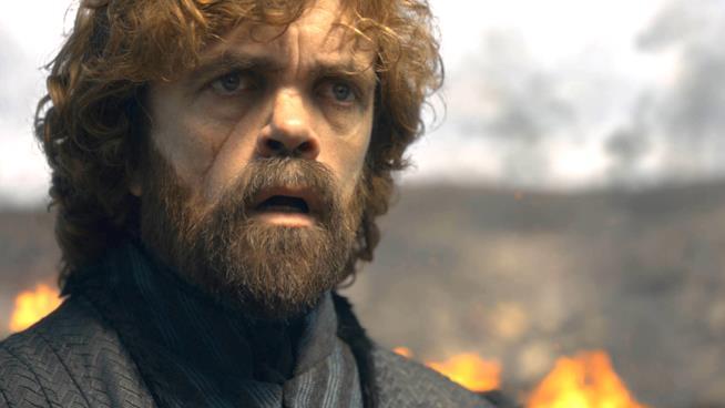 Peter Dinklage in Game of Thrones 8