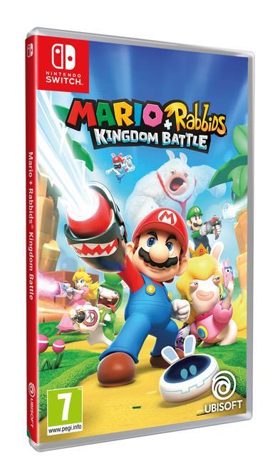 Mario + Rabbids in uscita il 29 agosto