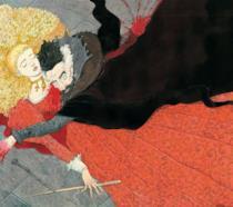 Un'illustrazione tratta da Le fiabe di Beda il Bardo