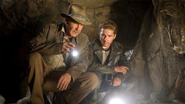Indiana Jones e il regno del teschio di cristallo di Steven Spielberg