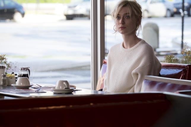 Elizabeth Debicki in una scena di Widows