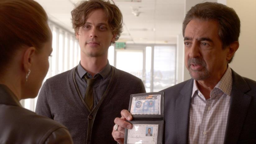 David Rossi e Spencer Reid di Criminal Minds