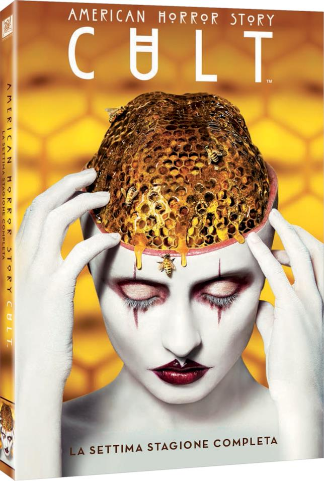 Il cofanetto DVD di American Horror Story: Cult
