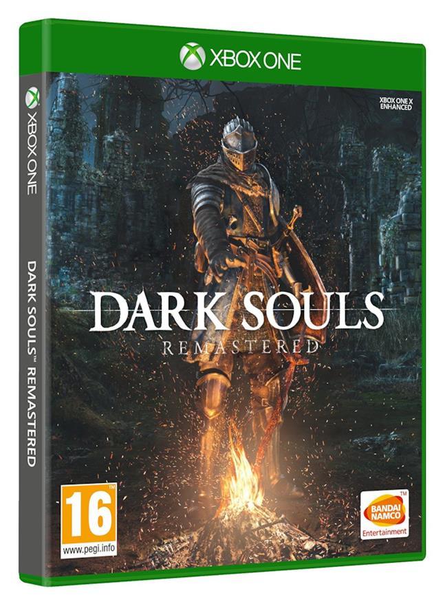 Packshot di Dark Souls Remastered