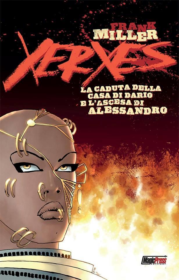 La copertina di Xerxes: la caduta della casa di Dario e l'ascesa di Alessandro 1