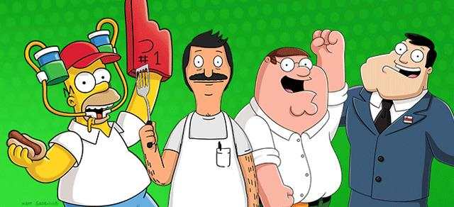 I Simpson, Bob's Burgers, I Griffin e American Dad: le serie animate FOX