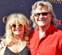 Kurt Russell e Goldie Hawn alla prima del film 'The Christmas Chronicles'