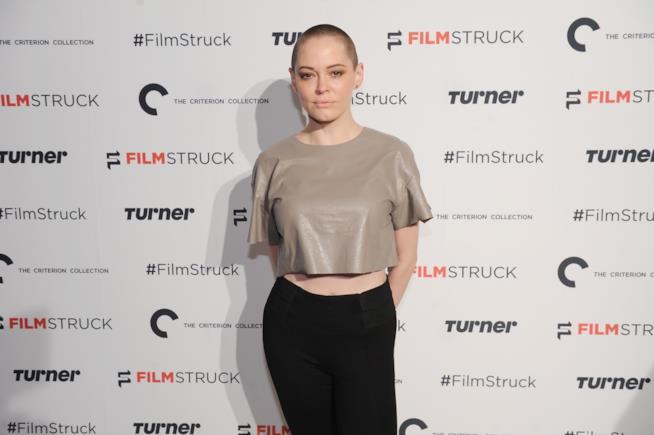 L'attrice Rose McGowan