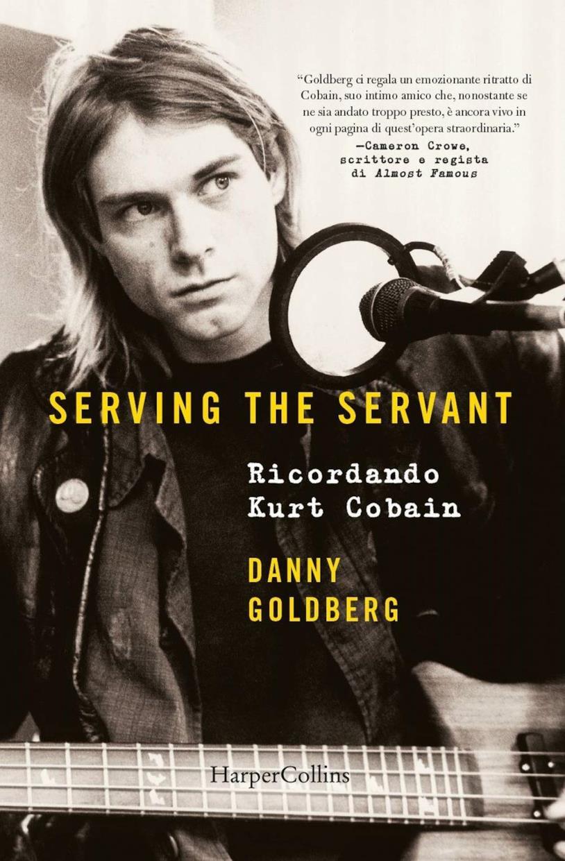 La cover del libro di Danny Goldberg dedicato a Kurt Cobain