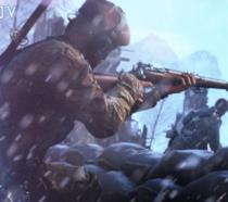 Una mappa innevata di Battlefield V