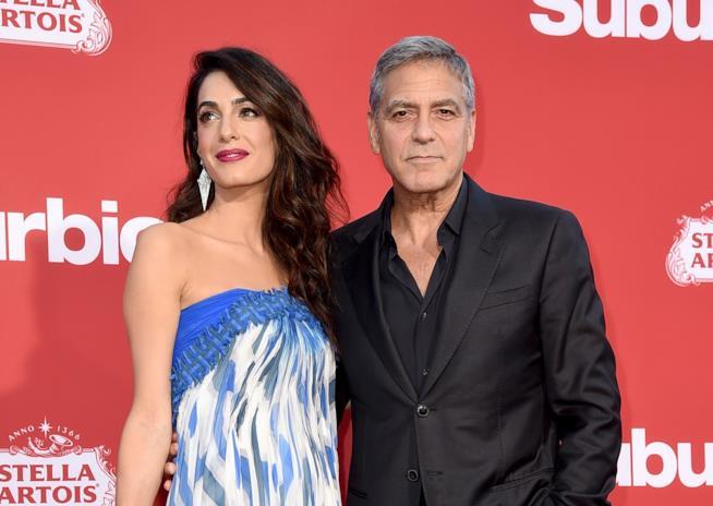 Amal e George Clooney sul red carpet