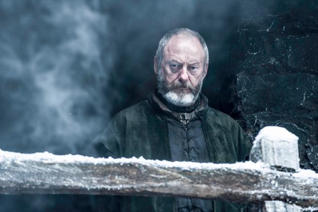 Liam Cunningham è Ser Davos