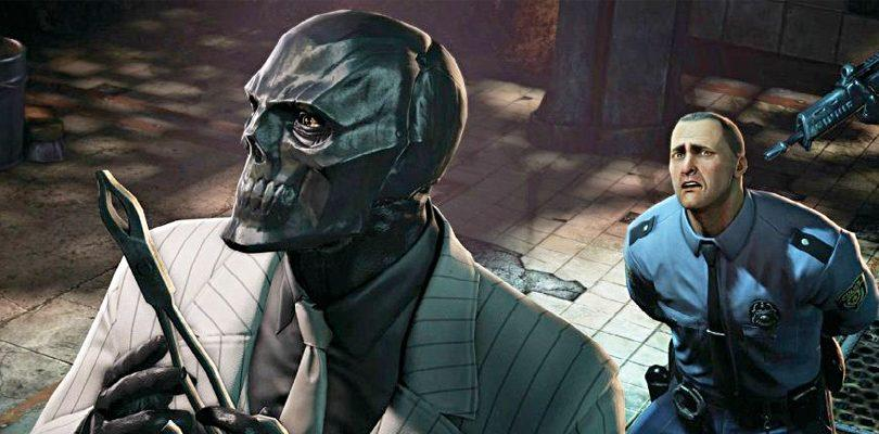 Maschera Nera è il villain principale di Batman: Arkham Origins