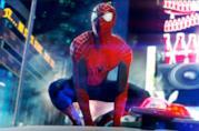 Una scena di The Amazing Spider-Man 2