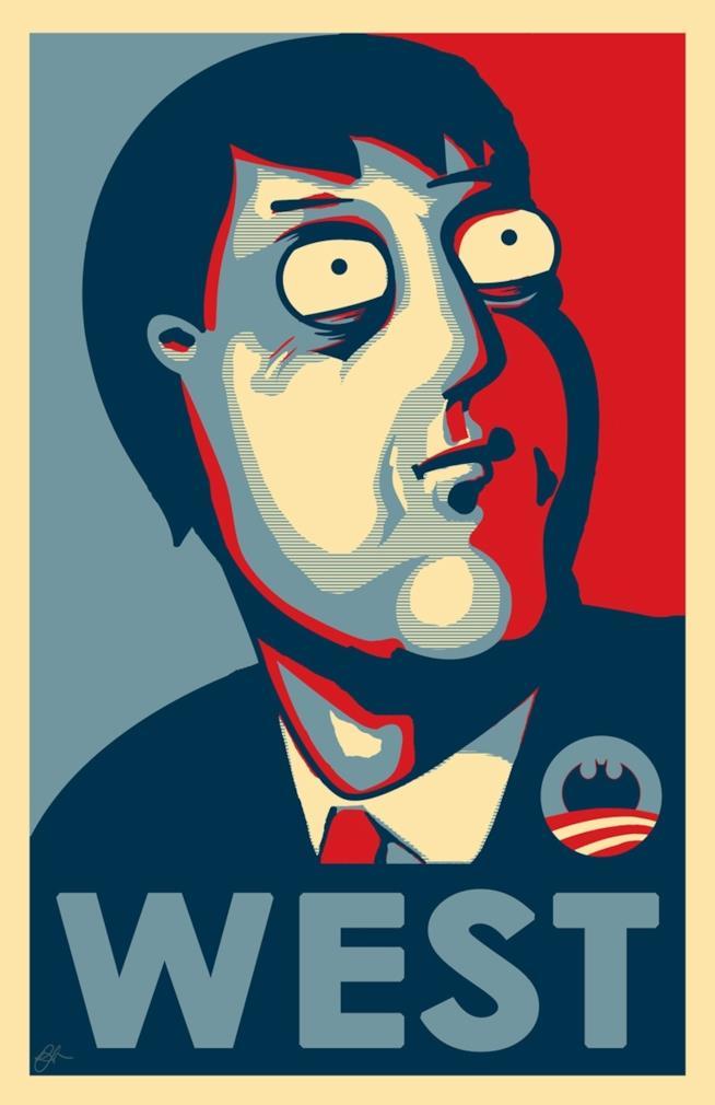 Adam West fa la parodia di Barack Obama nella serie animata I Griffin