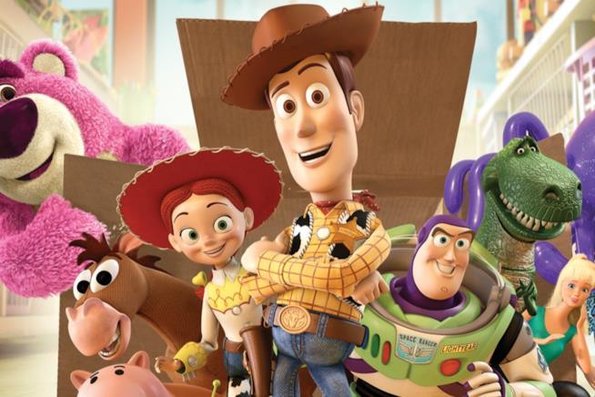 I personaggi di Toy Story al gran completo