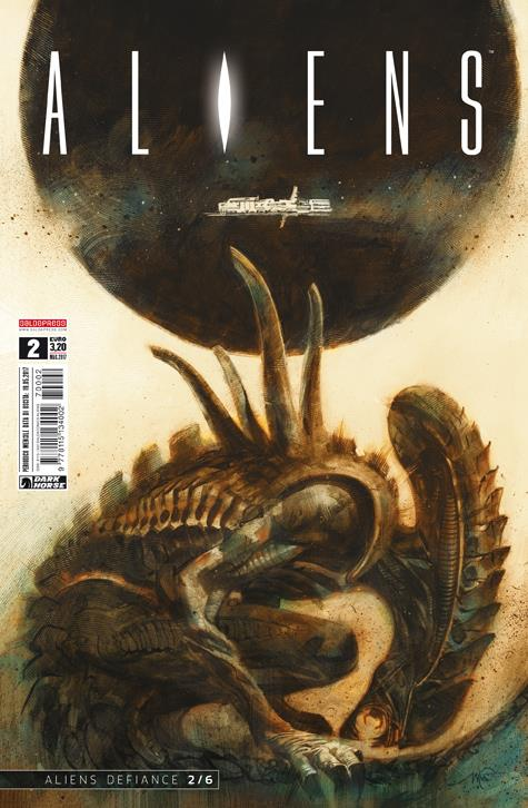 Aliens: Defiance, cover