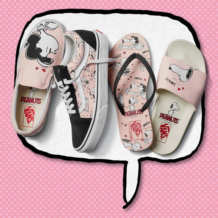 vans snoopy donna