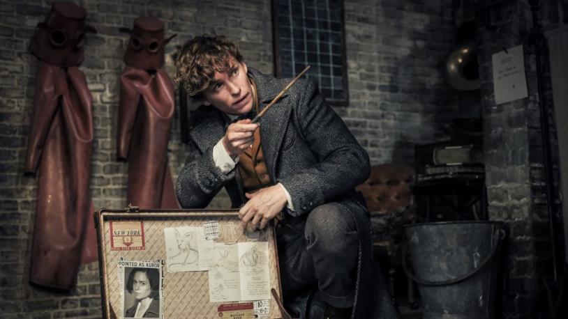 Newt Scamander in I crimini di Grindewald