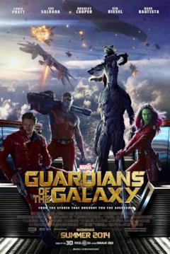 I Guardiani della Galassia nella locandina Real 3D