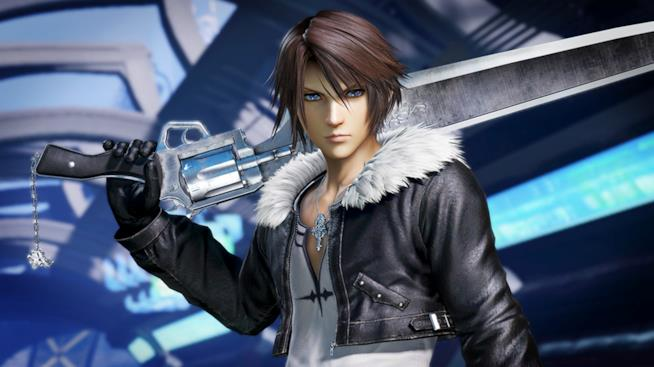 Squall Leonhart in Dissidia Final Fantasy NT