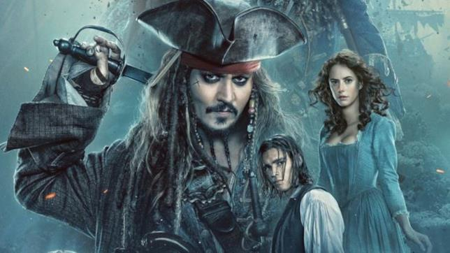 Jack Sparrow e gli altri protagonisti di Pirati dei Caraibi - La Vendetta di Salazar