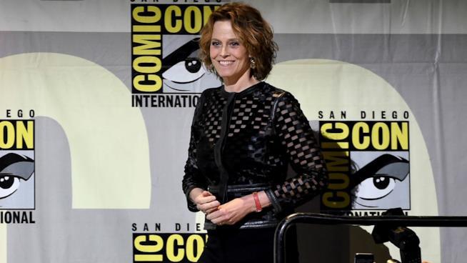 Sigourney Weaver al Comic-Con di San Diego 2016