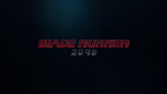 Il logo del film Blade Runner 2049