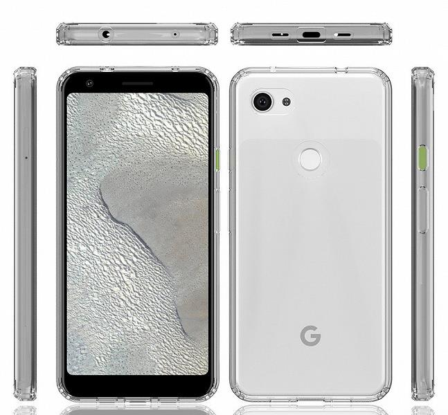 Immagine leak del Google Pixel 3a