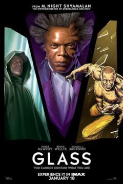 Il poster IMAX coi protagonisti di Glass