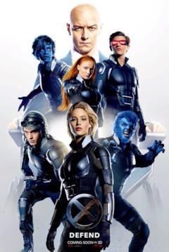 La squadra degli X-Men schierati a difesa della Terra
