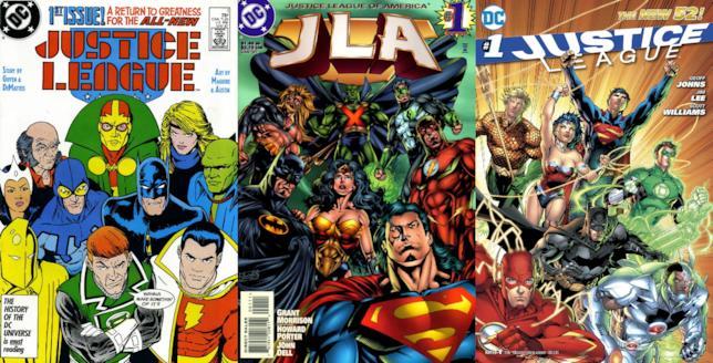 I più importanti rilanci della Justice League