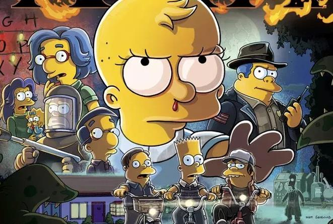 I Simpson in versione Stranger Things