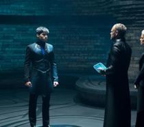 Seg-El al cospetto dei genitori in Krypton