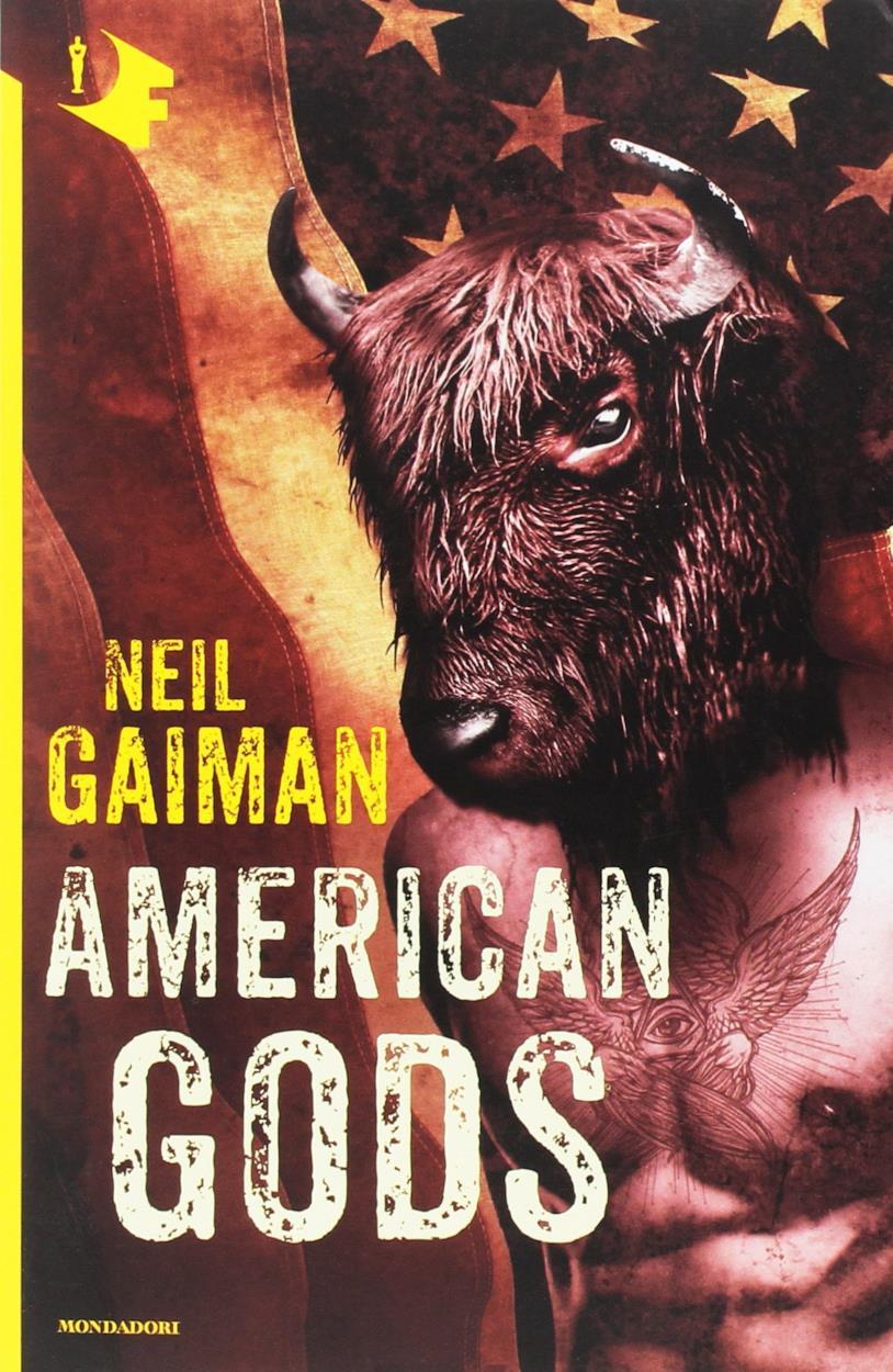 La copertina della nuova edizione italiana di American Gods