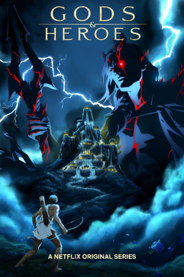 Il poster di Gods & Heroes di Netflix