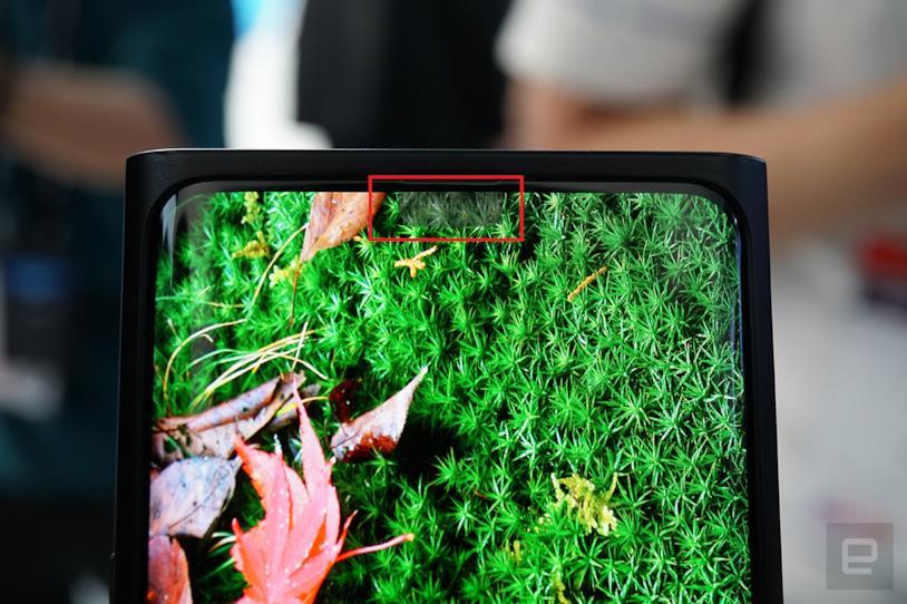 La fotocamera sotto al display di Oppo al MWC di Shanghai