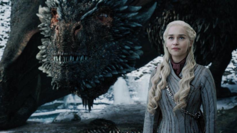 Drogon e Daenerys