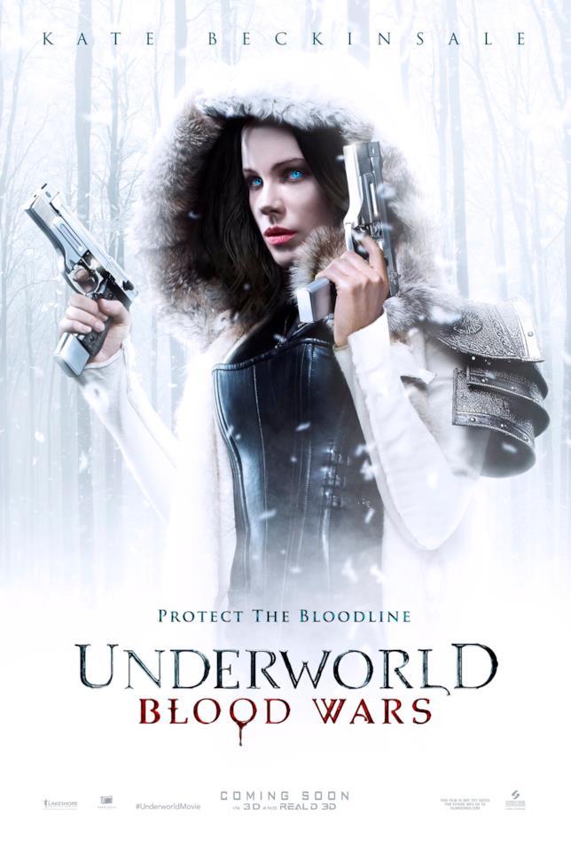 Selene nel poster di Underworld 5